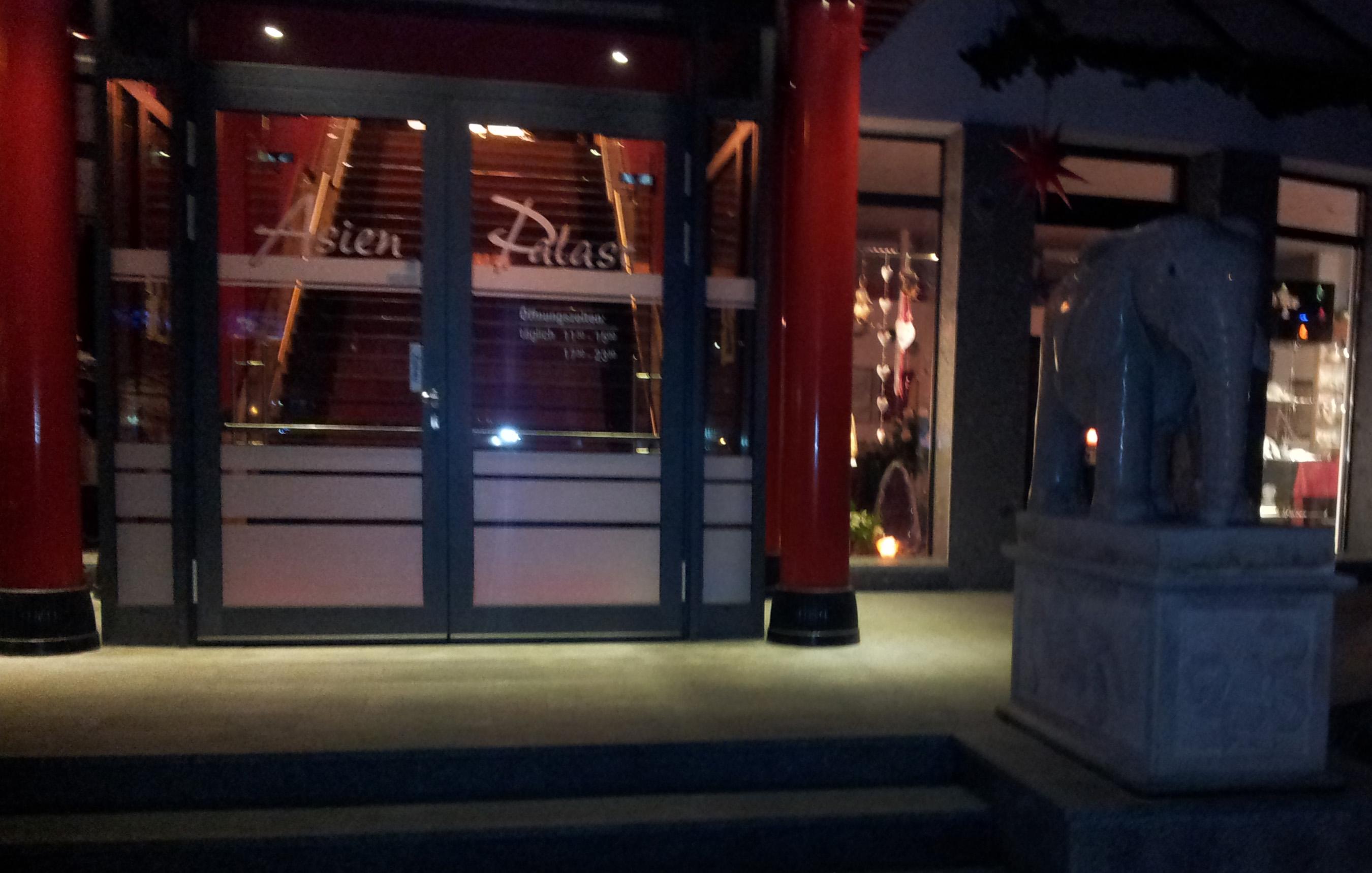 Eingangsbereich Asien Palast