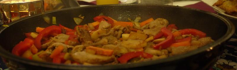 Schweinefleisch Süß-Sauer auf thailändische Art