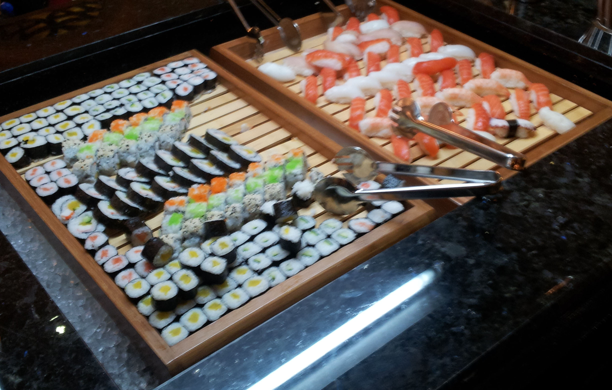 Auswahl an Sushis